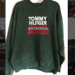 Tom Hilfiger Vintage Sweatshirt 1980's
